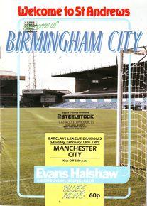 birmingham away 1988 to 89 prog