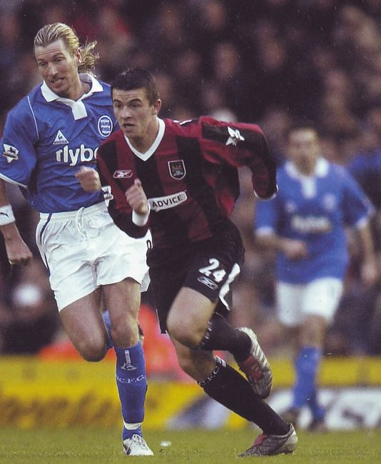 birmingham away 2003 to 04 action
