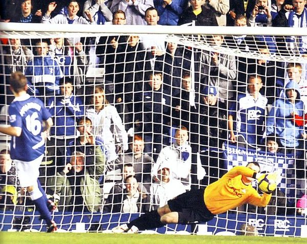 birmingham away 2009 to 10 given penalty save