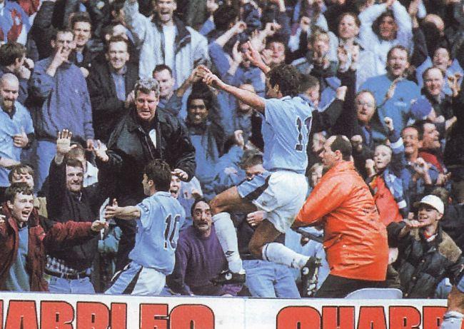 birmingham home 1996 to 97 kinky goal