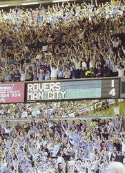 blackburn away 1999-00 fans scoreboard