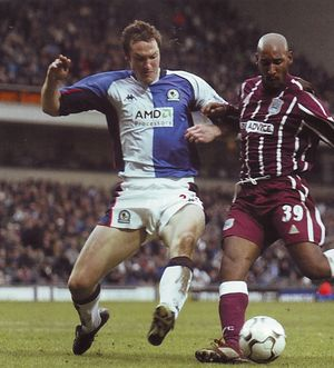 blackburn away 2002 to 03 action