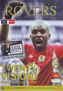 blackburn fa cup 2006 to 07 prog