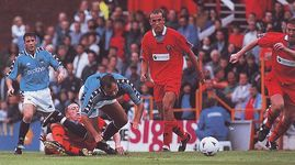 blackpool away friendly 1997 to 98 action6