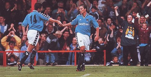 blackpool away friendly 1997 to 98 clough goal 2