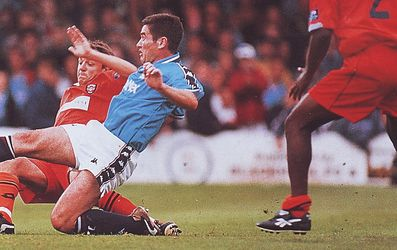 blackpool away friendly 1997 to 98 clough goal
