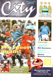 blackpool cola cup home 1997 to 98 prog