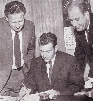 bobby kennedy signs 1961 to 62