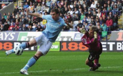 bolton away 2010 to 11 dzeko goal