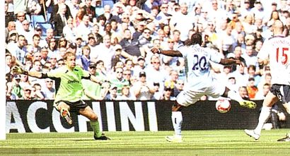 bolton home 2008 to 09 caicedo goal
