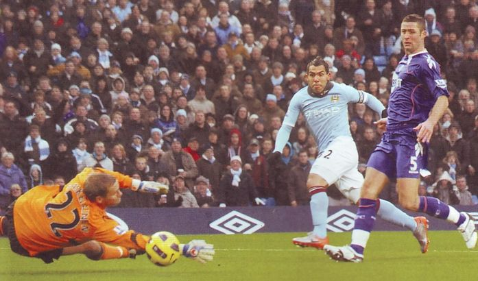 bolton home 2010 to 11 tevez goal