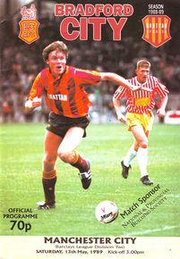bradford away 1988 to 89 prog