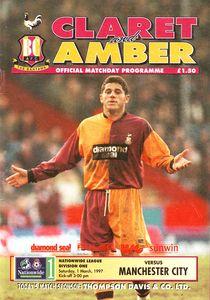 bradford away 1996 to 97 prog