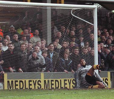 bradford away 1996 to 97 rosler pen goal