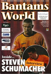bradford away friendly 2006 to 07 prog