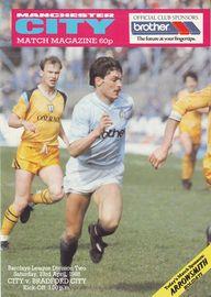 bradford home 1987 to 88 prog