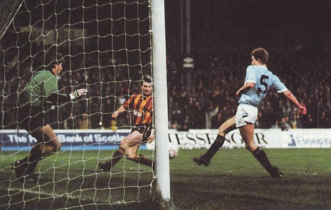 bradford home 1988 to 89 brightwell 2nd goal