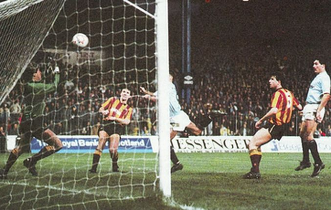 bradford home 1988 to 89 moulden goal
