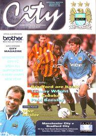 bradford home fa cup 1997 to 98 prog