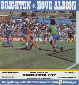 brighton away 1980 to 81 prog