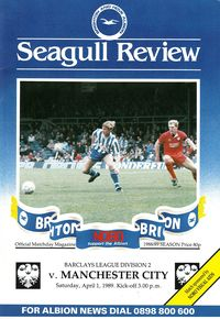 brighton away 1988 to 89 prog