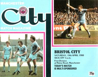 bristol city home 1979 to 80 prog
