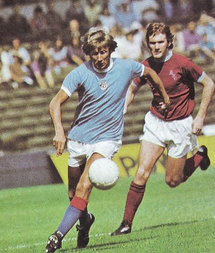 burnley home 1974 to 75 action