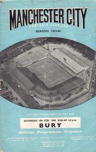 bury 1963-64 programme