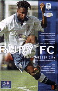bury away 1997 to 98 prog