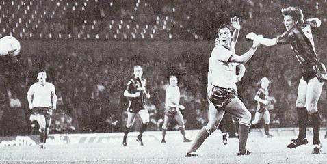 bury away milk cup 1985 to 86 melrose goal2
