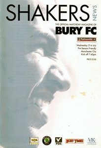 bury friendly 2002 to 03 prog