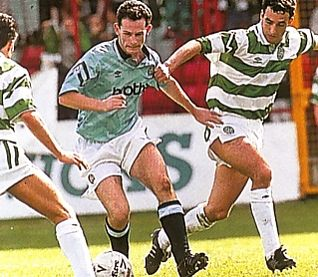 celtic friendly 1992 to 93 action