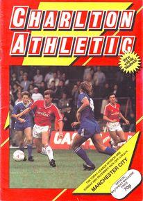 charlton away 1986 to 87 prog