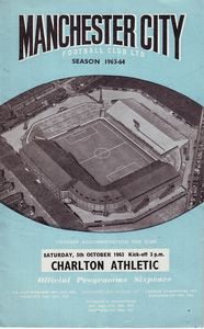 charlton home 1963 to 64 prog