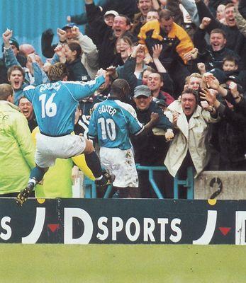 charlton home 1999 to 00 goater goal