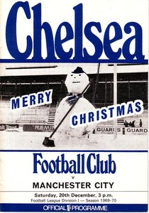 chelsea away 1969-70 programme