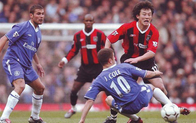 chelsea away 2003 to 04