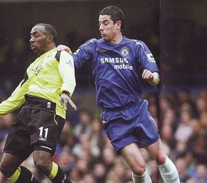 chelsea away 2005 to 06 action