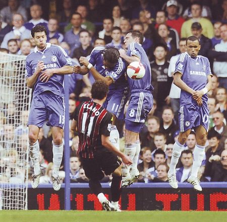 chelsea away 2008 to 09 action