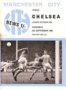chelsea home 1969-70 programme