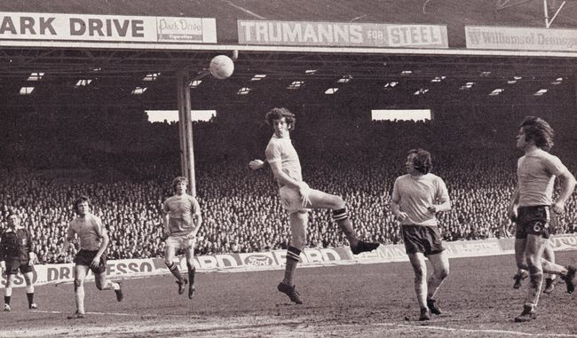 chelsea home 1971-72 booth goal
