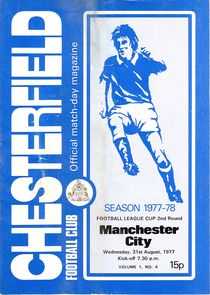 chesterfield away 1977 to 78 prog