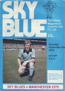 coventry away 1974 to 75 prog