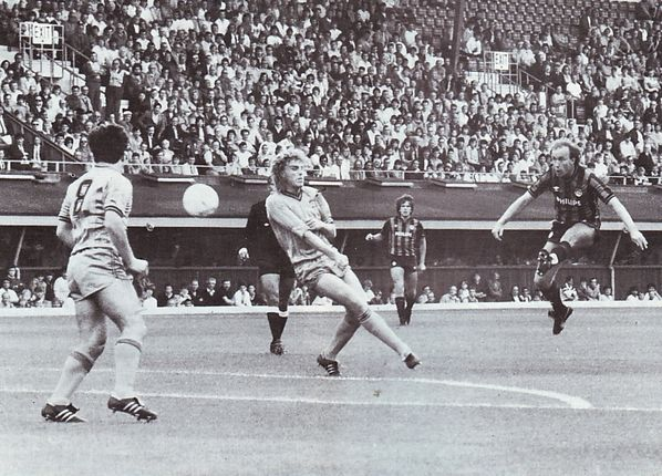coventry away 1985 to 86 mcilroy debut goal