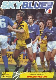 coventry away 1991 to 92 prog