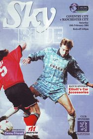 coventry away 1993 to 94 prog