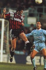 coventry away 1994 to 95 action