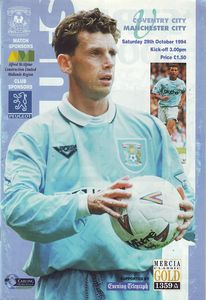 coventry away 1994 to 95 prog