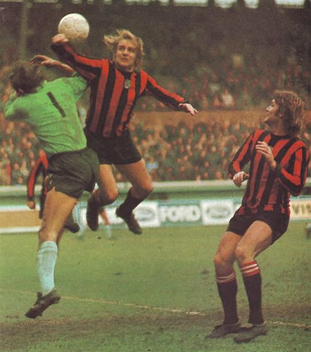 coventry away lge cup 1973 to 74 action