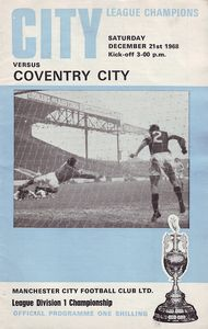 coventry home 1968 to 69 prog